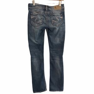 Silver Jeans Tuesday low baby boot w27/L31